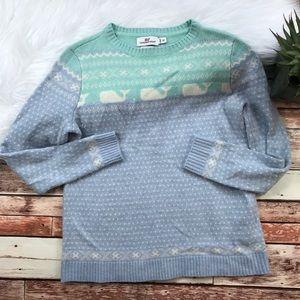 Vineyard vines Nordic cashmere blend sweater